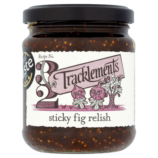 Food Imports, Supplying Tracklements Sticky Fig Relish